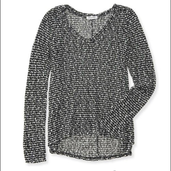Aeropostale Sweaters - Aeropostale sheer textured pullover sweater